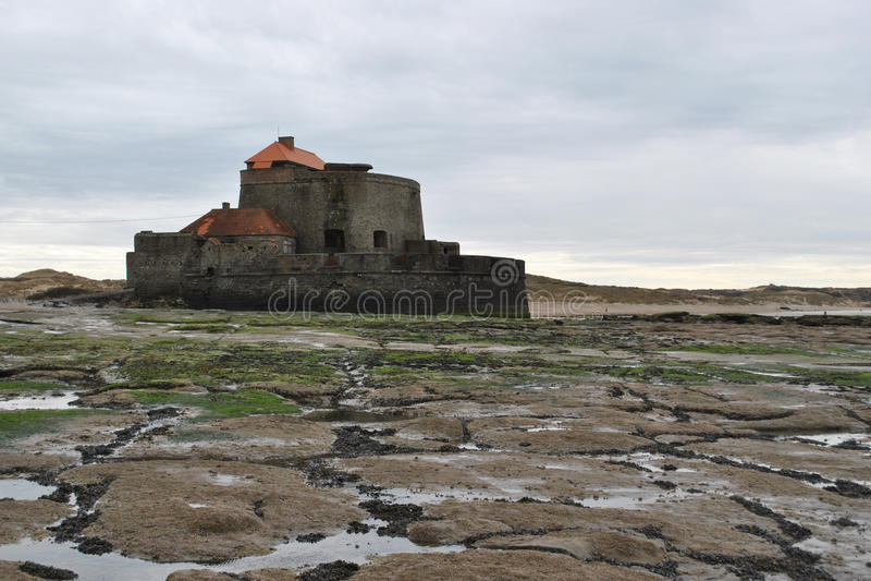Fort-Mahon Ambleteuse στοκ φωτογραφία με δικαίωμα ελεύθερης χρήσης