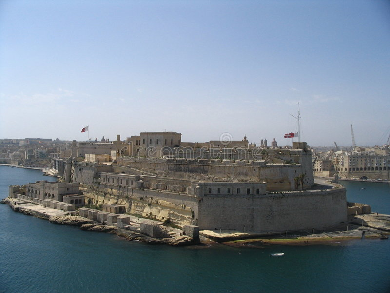 Fort Malta lizenzfreie stockfotos