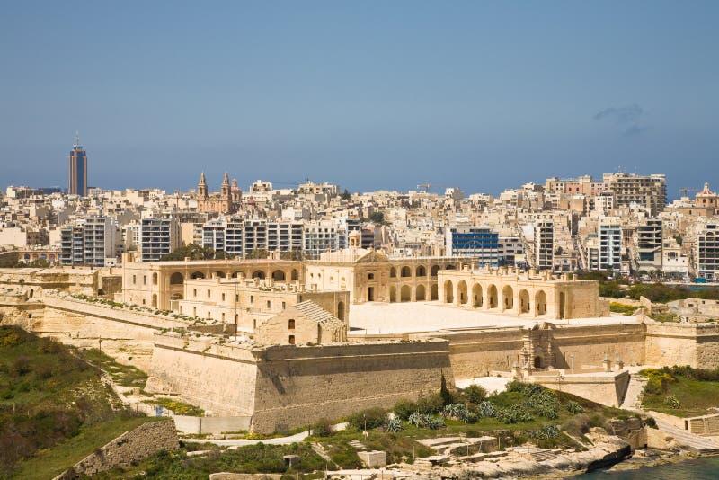 Fort Manoel, Malta lizenzfreie stockfotos