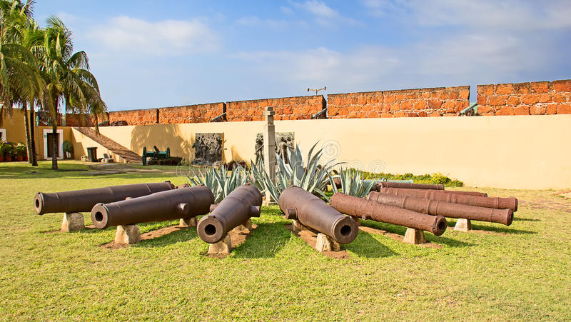 Fort in Maputo, Mozambique stock image