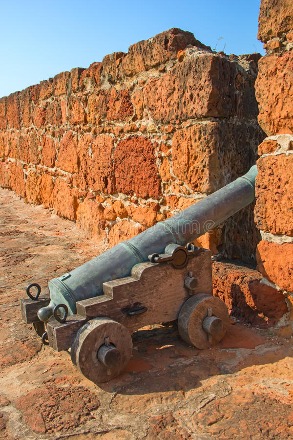 Fort in Maputo, Mozambique. Old portugese fort in Maputo, Mozambique royalty free stock photography
