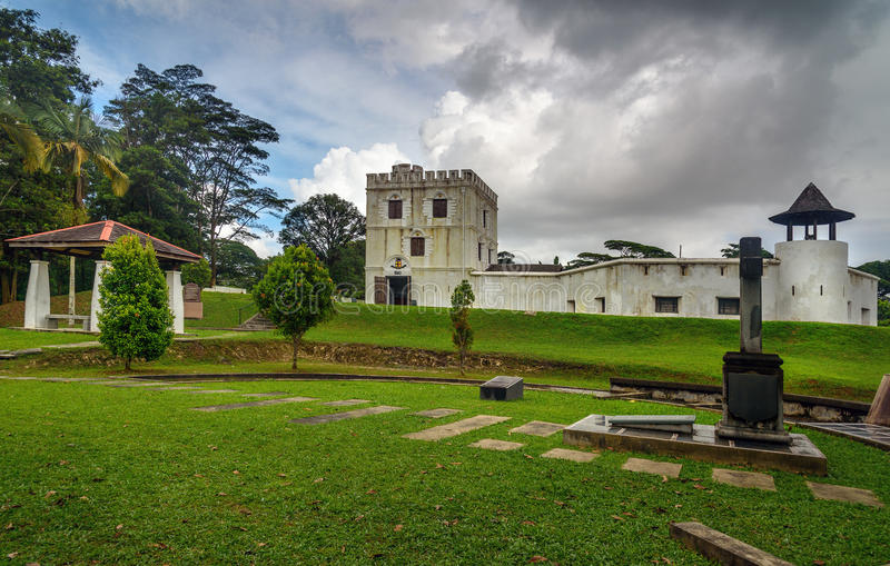 Fort Margherita dans Kuching images stock