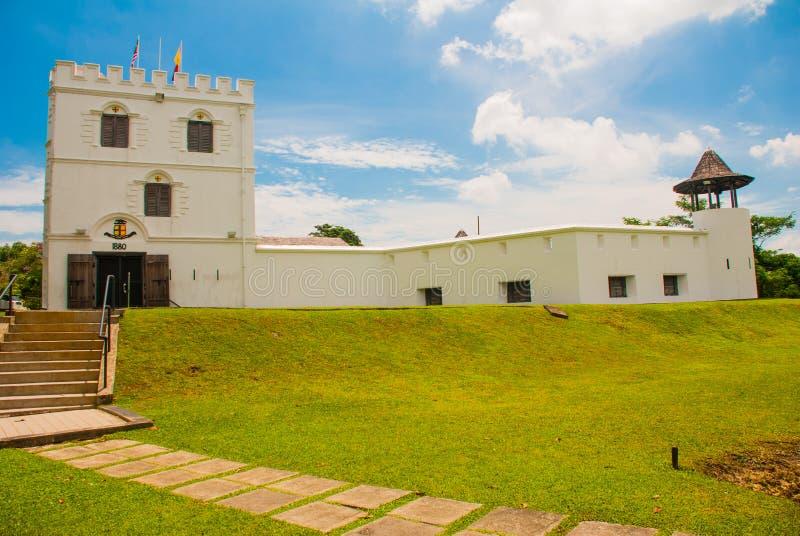 Fort Margherita in Kuching sarawak maleisië borneo royalty-vrije stock fotografie