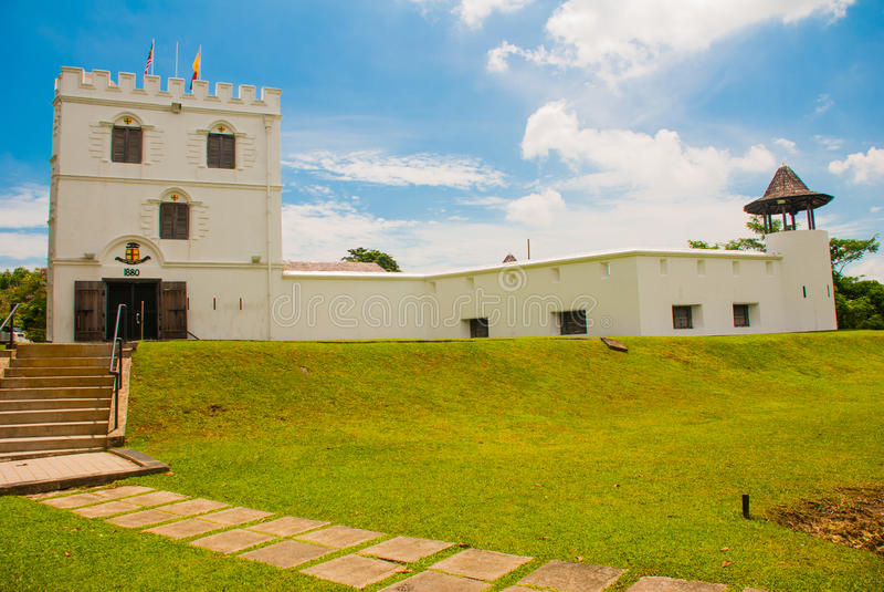 Fort Margherita w Kuching sarawak Malezja borneo fotografia royalty free