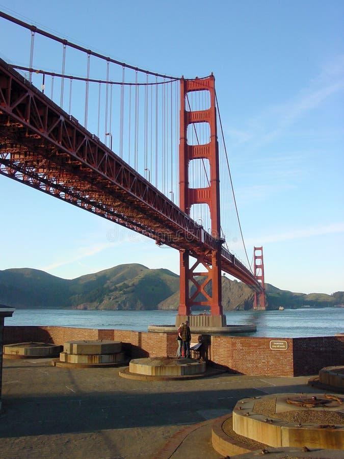 Download Fort Mason View Of Golden Gate Bridge Stock Image - Image: 85121