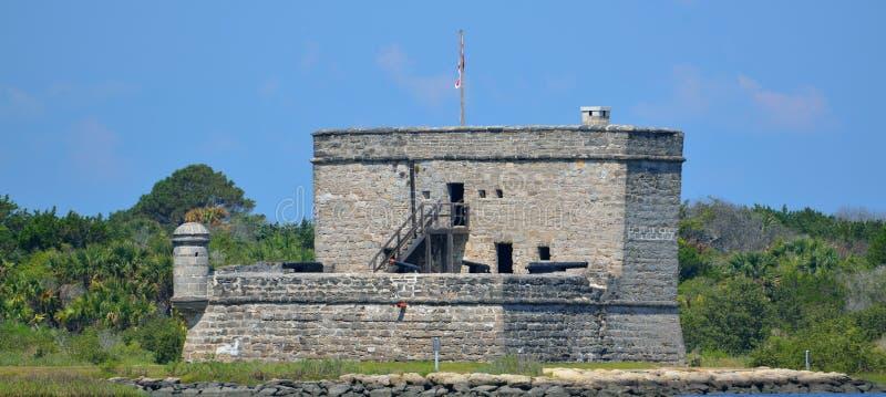 Fort Matanzas royalty free stock photo