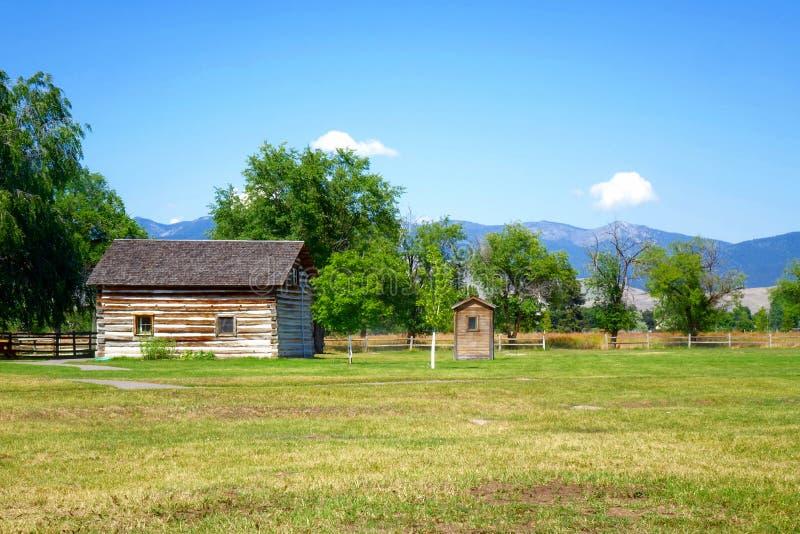 Fort Missoula - Montana photographie stock libre de droits