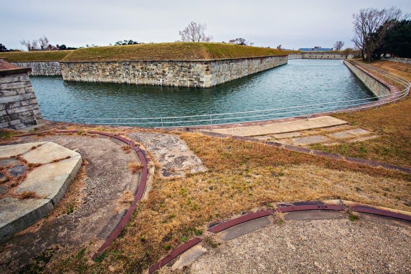 Fort Monroe fotografia stock