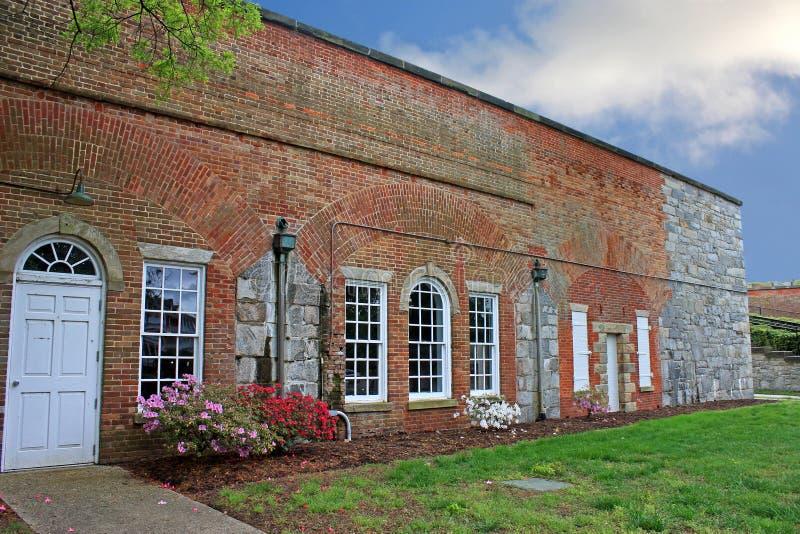 Fort Monroe, la Virginie photographie stock