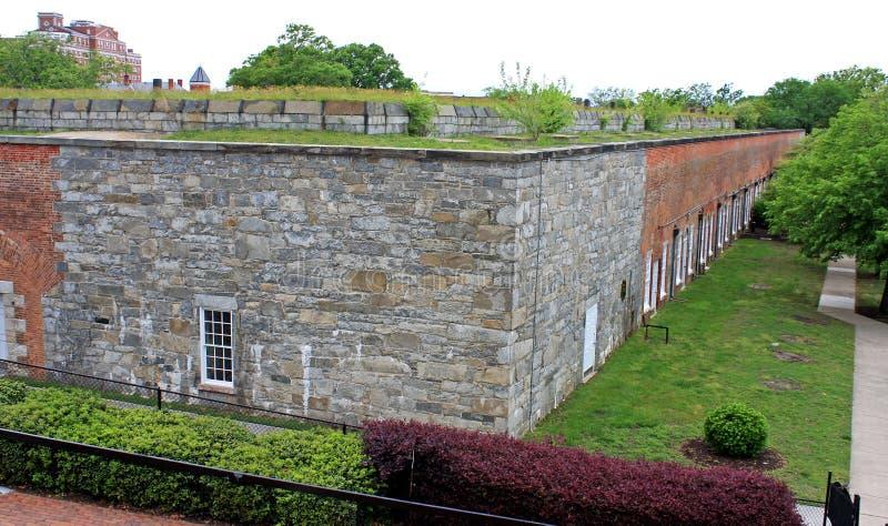 Fort Monroe Virginia royaltyfri foto