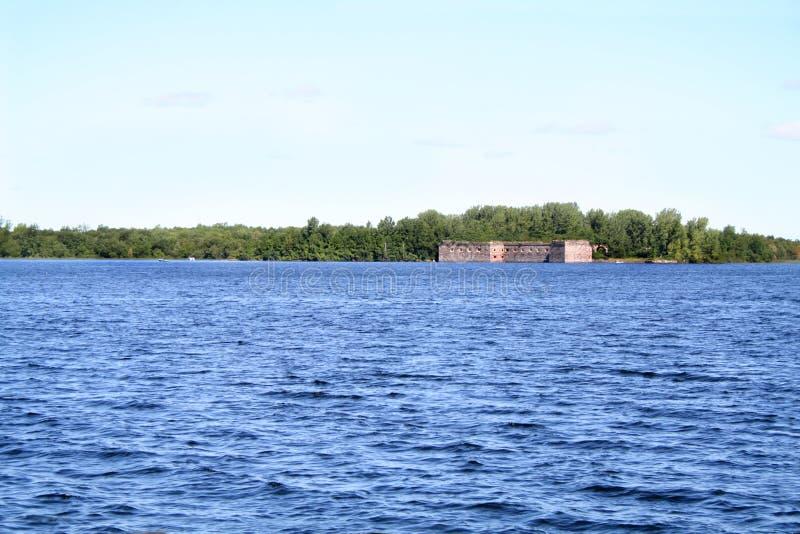 Fort Montgomery stock afbeelding