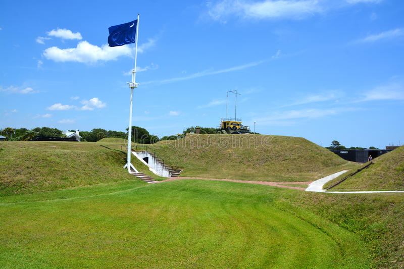 Fort Moultrie stockfoto
