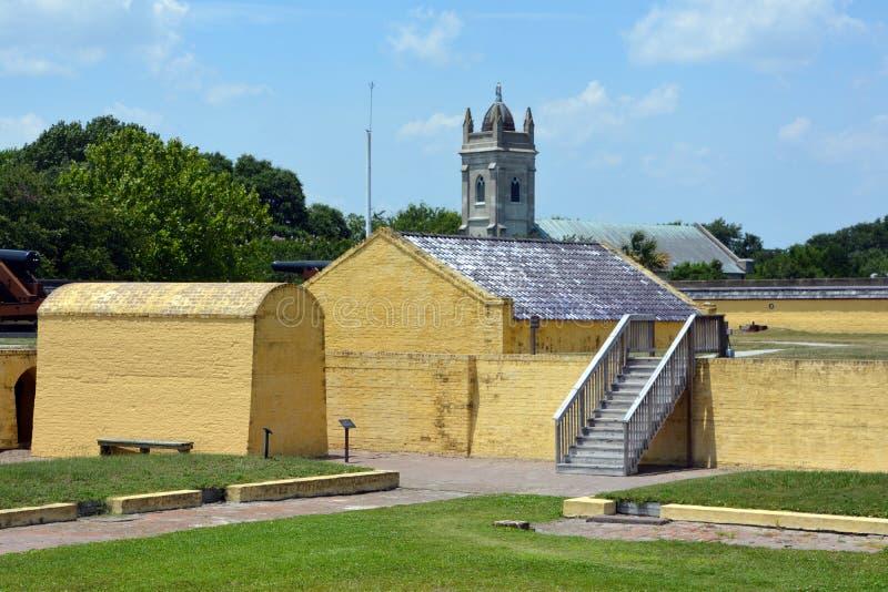 Fort Moultrie obraz stock
