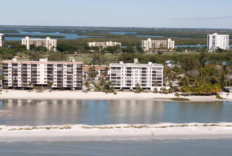 Fort Myers Beach condo stock photos