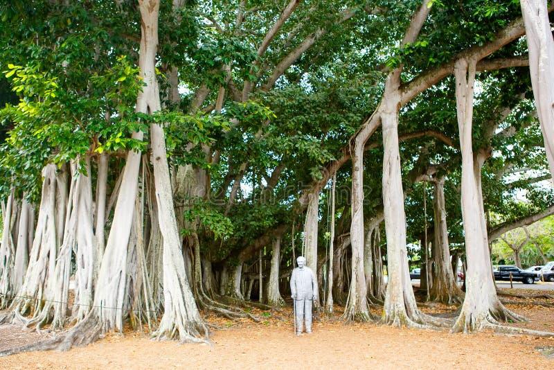 FORT MYERS FL-APRIL 15 2016: Fort Myers Florida, Thomas Edison royaltyfria foton