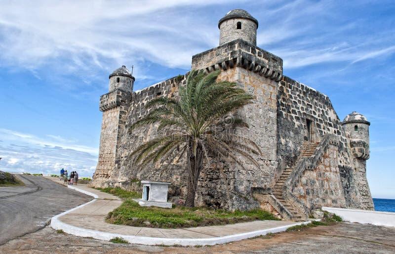 Fort na linii brzegowej zdjęcie stock