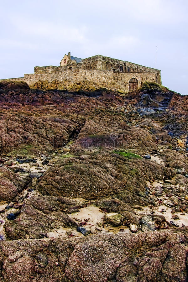 Fort National in Saint Malo Brittany France