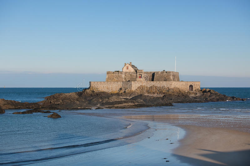 Fort National In Saint Malo (France) Stock Photos