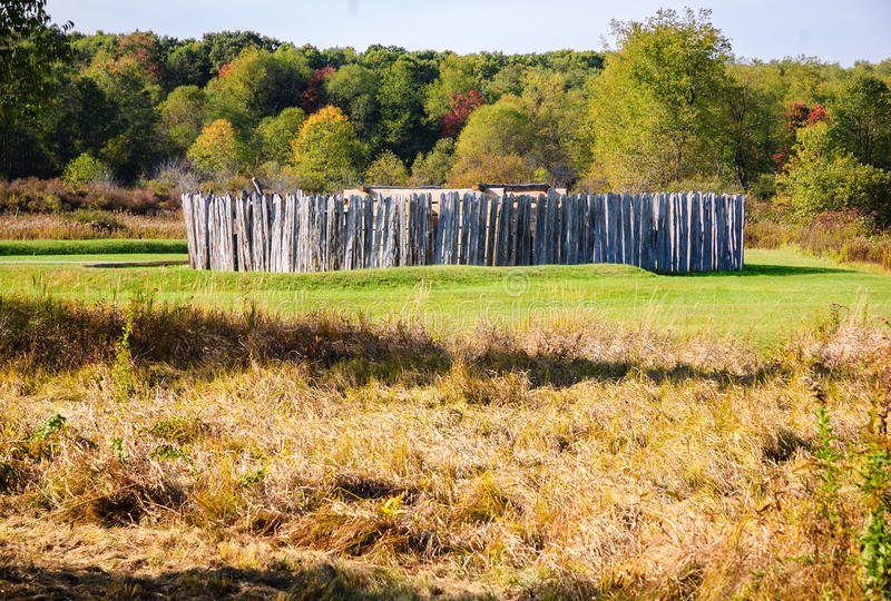 Fort Necessity National Battlefield. PA stock images