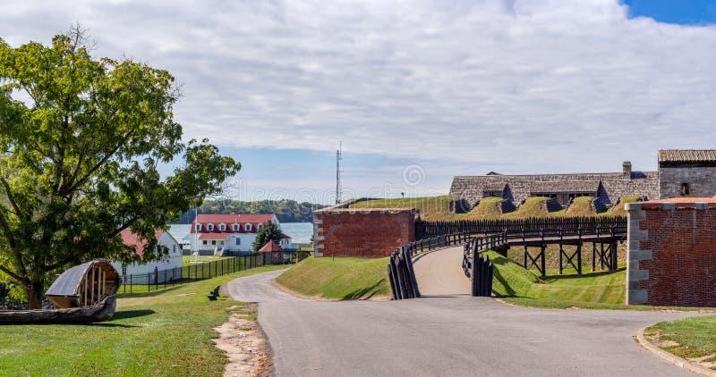 Fort Niagara, Estado de Nueva York, Estados Unidos de América: [ Parque estatal y museo, emplazamiento histórico británico y fran fotos de archivo