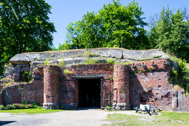 Fort Nr 5 royalty-vrije stock afbeelding