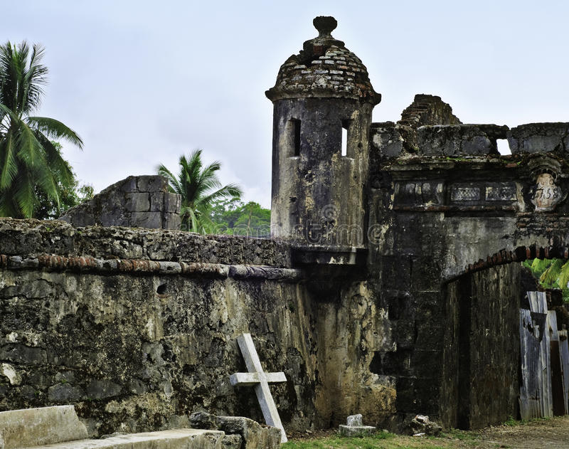fort panama royaltyfria foton