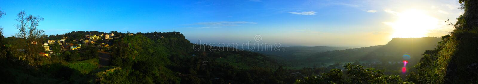 Download Fort Panorama stock photo. Image of green, refresh, houses - 39512192