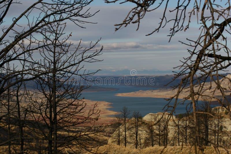 Fort Peck Reservoir stock images
