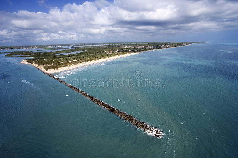 Fort pierce flordia fotografia stock immagine di north for Noleggio di cabine north ga