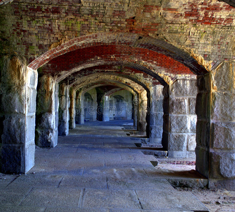 Free Fort Popham, Pippsburg Maine, USA Stock Photos - 40211163