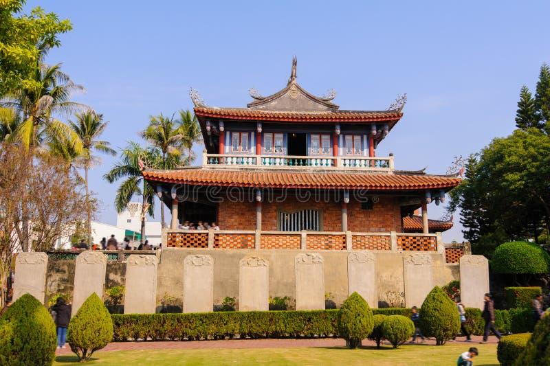 Fort Proventia i Tainan, Taiwan fotografering för bildbyråer