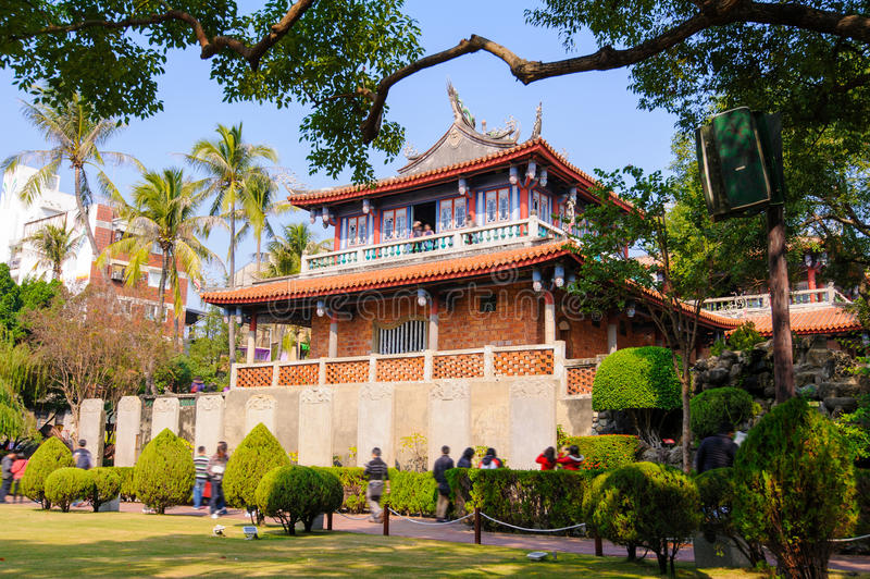 Fort Proventia in Tainan, Taiwan royalty free stock photography