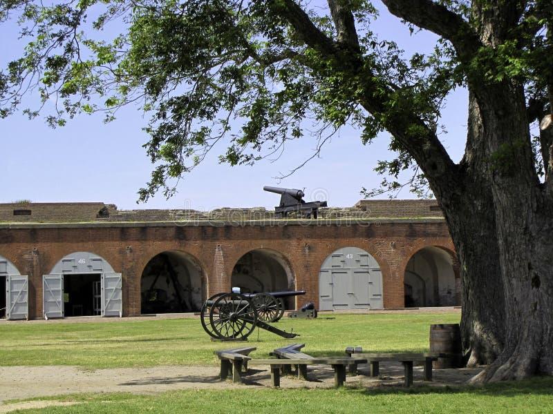 Fort Pulaski photo libre de droits