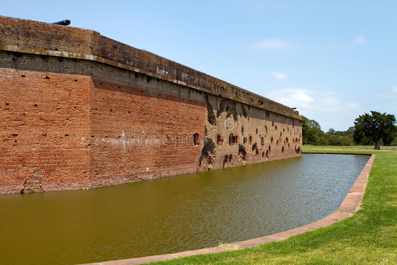 Fort Pulaski National Monument stock photos