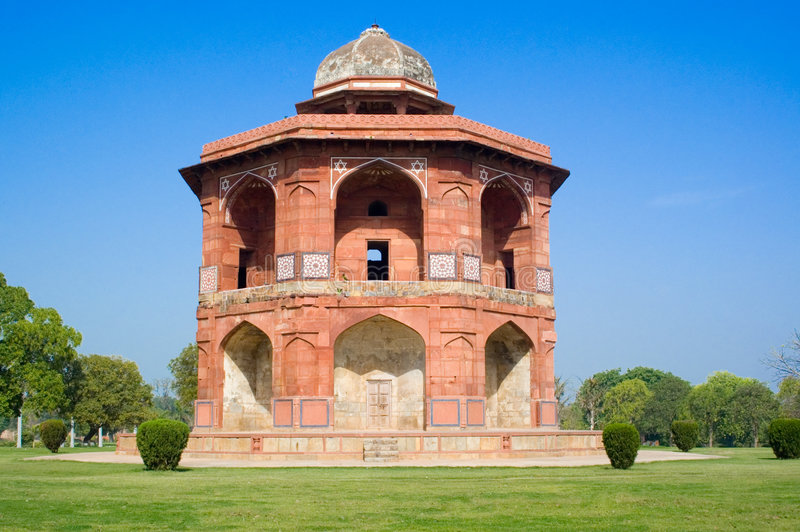 fort purana delhi stary qila zdjęcia stock