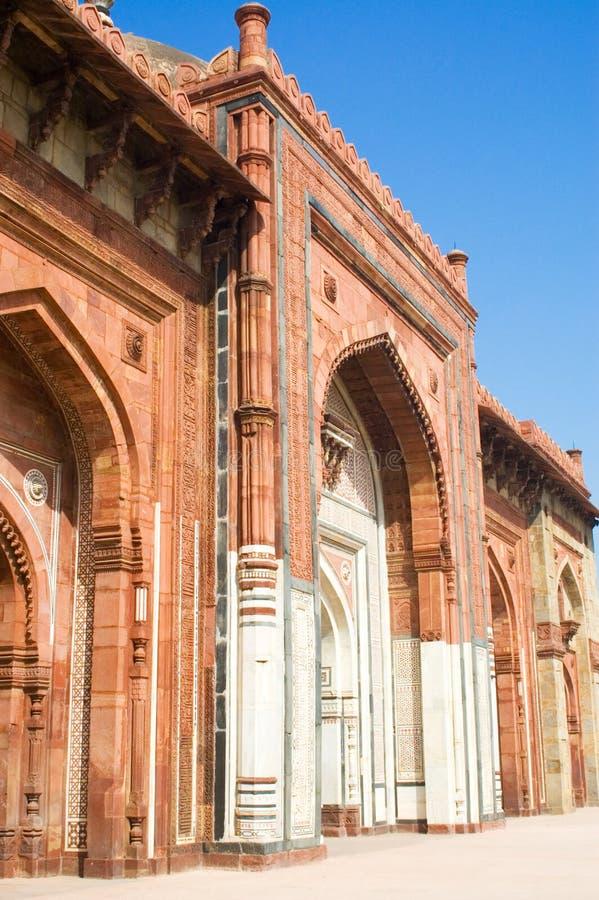 fort purana delhi stary qila zdjęcie stock