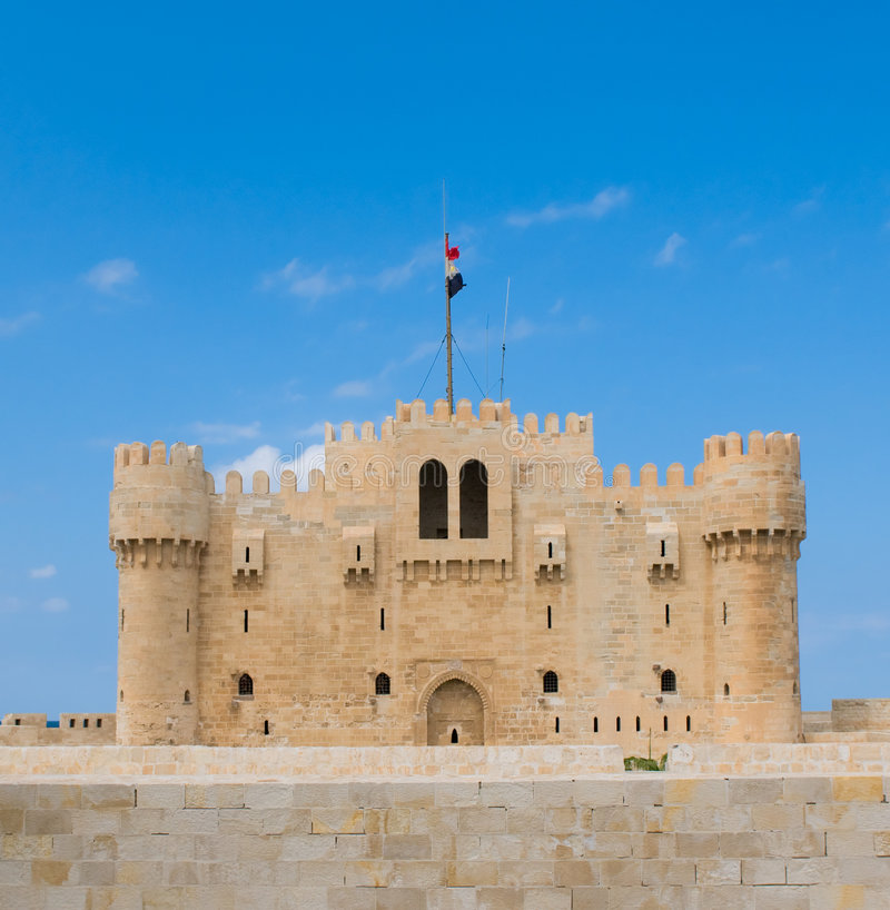 Download Fort Qaitbey, Alexandria, Egypt Stock Image - Image: 7745201