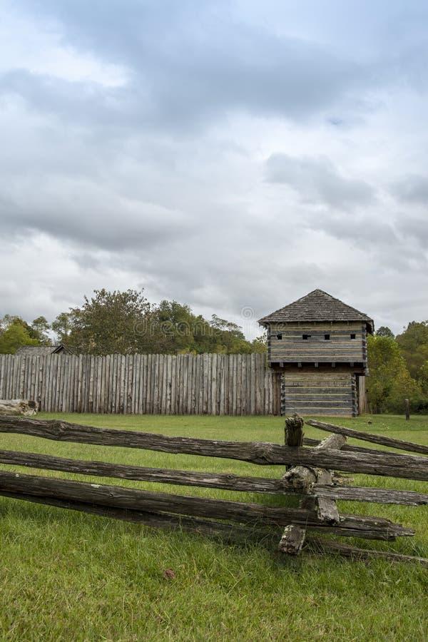Fort Randolph, Virginia, USA stockbilder
