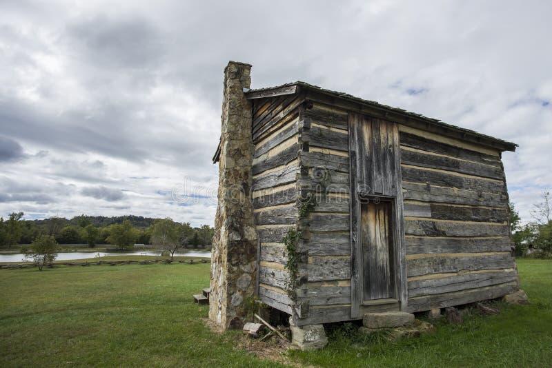 Fort Randolph, Virginia, USA lizenzfreies stockfoto