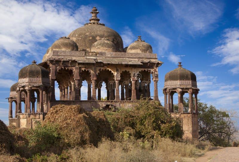Het Fort van Ranthambhore. stock foto