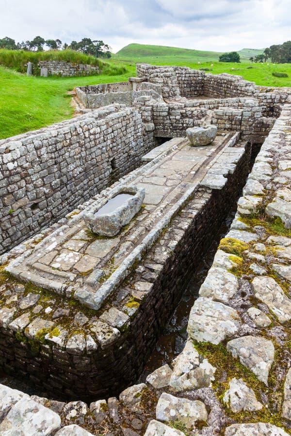 Fort romain de Housesteads photographie stock libre de droits