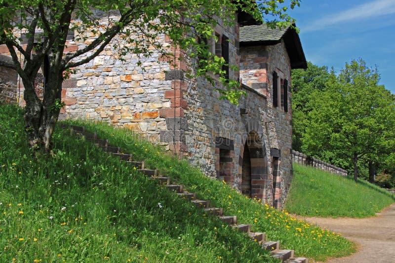 Fort romain de Saalburg photographie stock