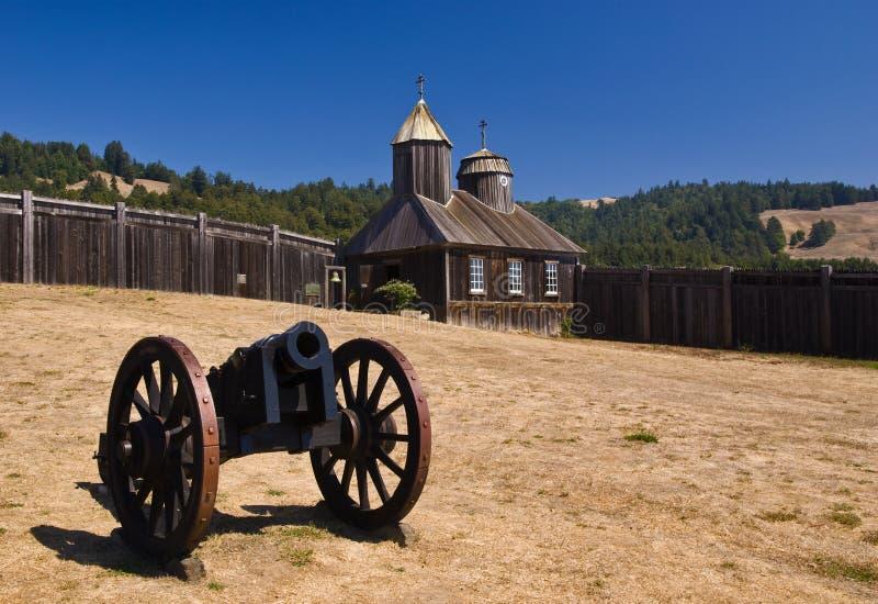 Fort Ross royalty-vrije stock fotografie