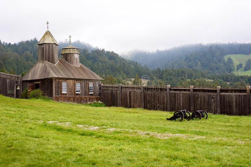 Download Fort Ross Sonoma stock photo. Image of heritage, perimiter - 15685054