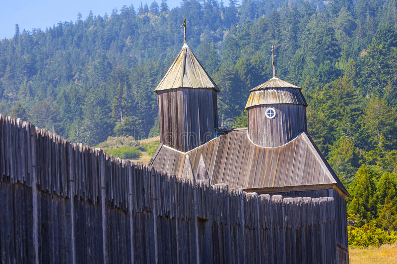 Fort Ross State Historic Park stock foto