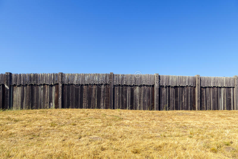 Fort Ross State Historic Park royalty-vrije stock foto