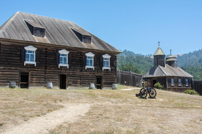 Fort Ross state park in California, USA stock images