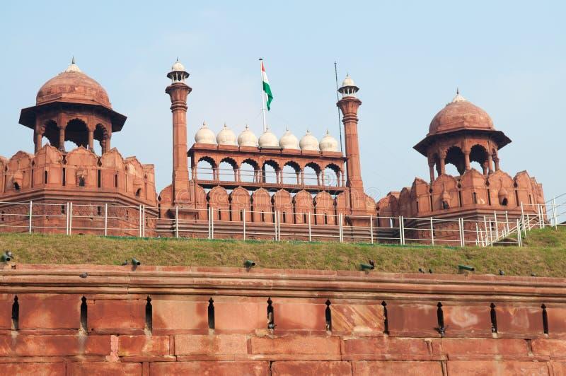 Fort rouge à Delhi photo stock