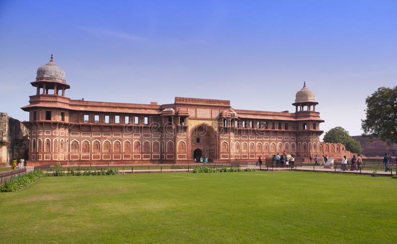 Fort rouge à l'intérieur agra l'Inde images libres de droits