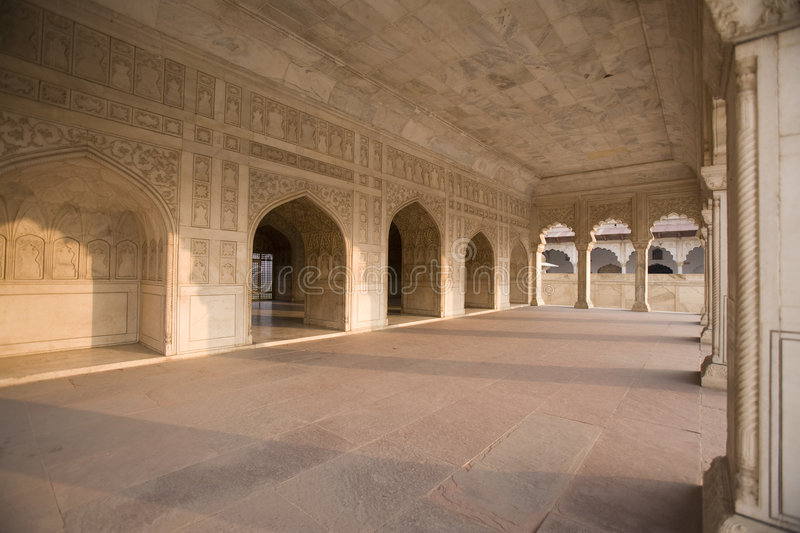 Fort rouge - Agra, Inde photo stock
